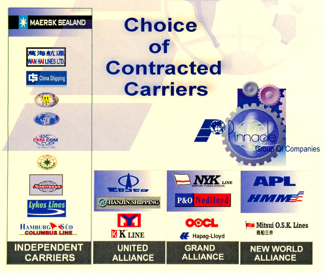 Choice of Contracted Carriers
